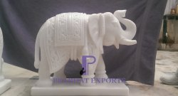 One Piece Marble Elephant