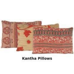 Vintage Kantha Pillows