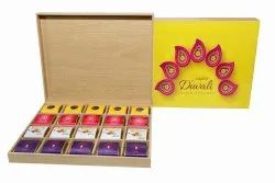 Brown Corporate Diwali Gift Homemade Chocolates Handcrafted Chocolates