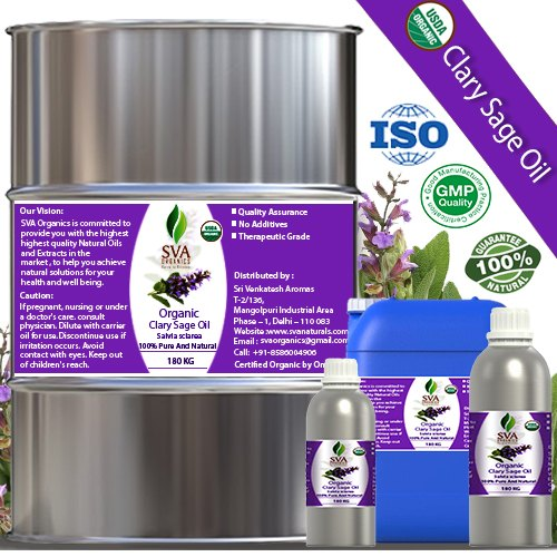 Organic Clary Sage Oil