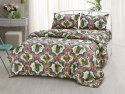 Floral Double Bedsheet with Pillow Cover
