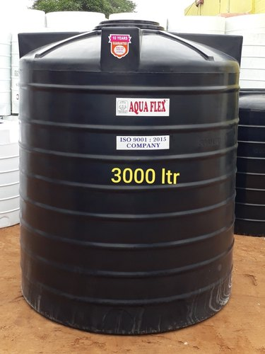 Aqua Flex Black 3000 Litre Double Layer Water Tank Rs 4 Litre Id 21683423591