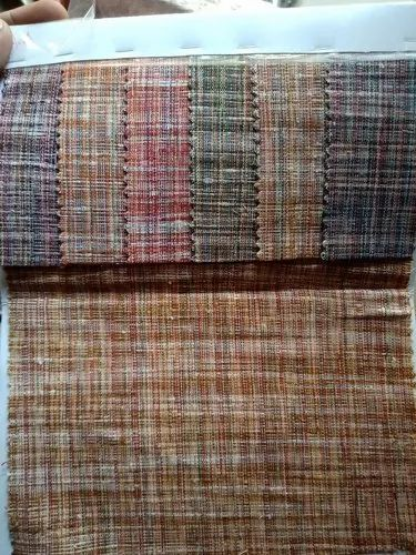 Multicolor Khadi Fabric
