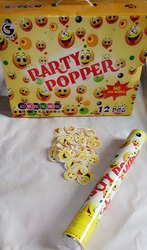 40 cm Smiley Suitcase Box Party Popper