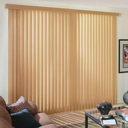 PVC Brown Vertical Window Blinds