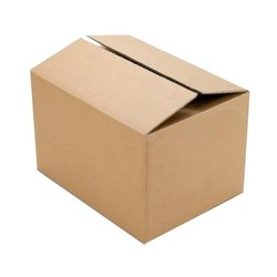 Brown 5 Ply Corrugated Packaging Box, Box Capacity: 30-40 Kg