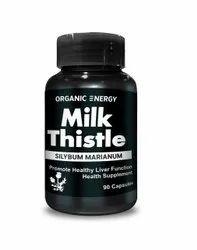 Organic Energy Milk Thistle Capsules, Packaging Type: Bottle