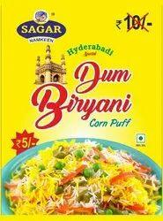Dum Biryani Corn Puff