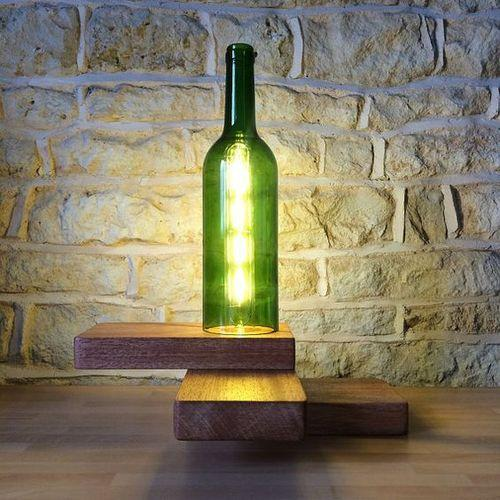 Incandescent Wood Wine Bottle Table Lamp Rs 1200 Piece Junk Trunk