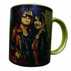 Glitter Mug Golden