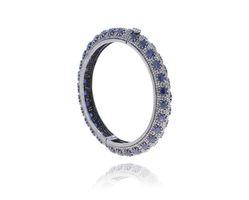 Blue Sapphire Designer Bangle