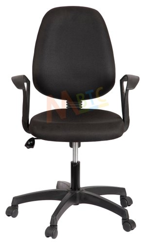 Fabric Fixed Arms Mbtc Rudy Mid Back Office Study Chair Id 22350852055