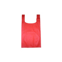 Red U Cut Non Woven Bags