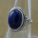 925 Sterling Silver Lapis Lazuli Gemstone Beautiful Ring