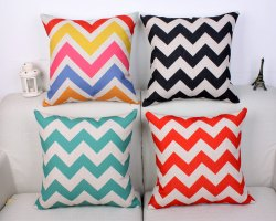 Sofa Cotton Pillow Printed Indoor Cover