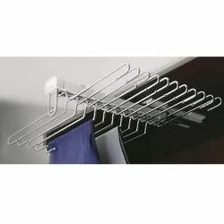 Double Liner Trouser Rack Soft Close