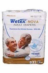 Wetex Adult Diapers- Premium Nova Extra Large