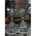 Traditional Metal Jhumka Earrings