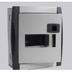 Garvit Mild Steel (MS) MCB Box, For Electric Fittings, Model Name/Number: 6 Way DD Fancy