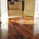 Brown Solid Wood Flooring, For Indoor And Outdoor