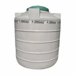 White Double Layer Jindal Plastic Water Tank, Storage Capacity: 500L, for Water Storage