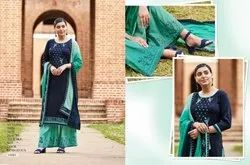 Kessi Ramaiya Presents Vastra Cotton Work Ladies Suits Wholesalers