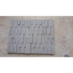 Black Brown Sandstone Wall Panel