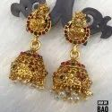 South Indian Style Copper Matte Jhumki JHM 09