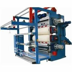 Automatic Textile Calendering Machine