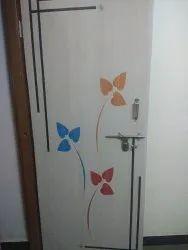 Plywood Laminated Lamination Door (pinewood)