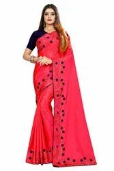 Fancy Sana Silk Designer Saree