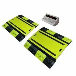 Portable Axle Weigh Pad Scale