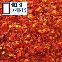 Crushed Red Chilli Pepper, Packaging: Plastic Bag or Polythen