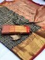 Banarasi Saree For Jacquard Wedding
