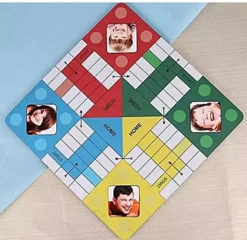 Customized Ludo Board Game With Kids Picture