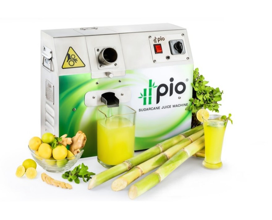 Pio Sugarcane Juice Machine, 120 kg/hr, 0.5 hp