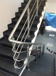 Stainless Steel Railing Structure Dizzin, Dimension: 1/2 to 4 inch
