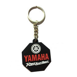 Bike Silicone Promotional Keyrings
