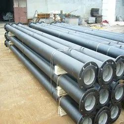 Round Ductile Iron Flanged Pipe, Hardness: 60-70HRC