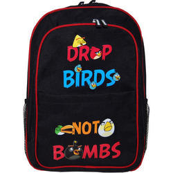 Black Kids Waterproof Backpack