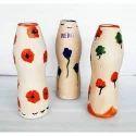 Remi Clay Flower Vase