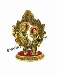 Gold Plated Weeding Radha Krisna