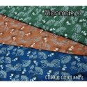 Cotton Linen Printed Shirting Fabric
