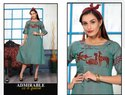 Raanisa Vol 2-RSF Heavy Rayon Fancy Embroidery Work Anarkali Kurtis Collection