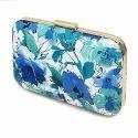Floral Printed Ladies Clutch Bag