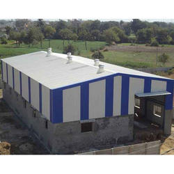 MS Fabricated Shed Industrial Shed
