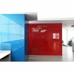 Saint Gobain Multicolor Lacquered Glass