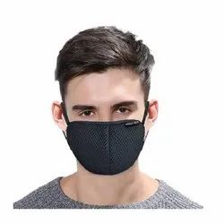 M45K Anti-Microbial Safety Face Mask- Black
