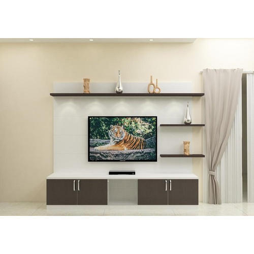 Living Room Cabinet Design In India: Wooden LCD TV Cabinet, Liquid Crystal Display Television