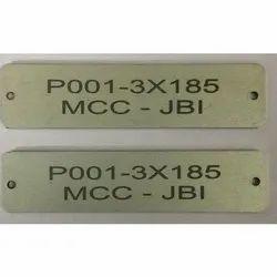 Aluminum Cable Tag